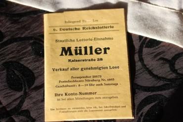 Ein Achtellos Deutsche Reichslotterie