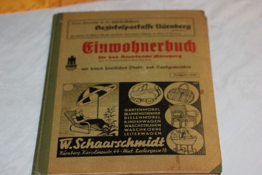 Einwohnerbuch für das Bezirksamt Nürnberg 1939