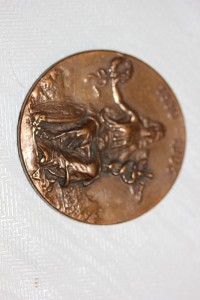 Bronze Medaille Gebrüder Bing von 1905