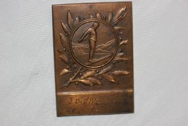 Medaille Skispringen 3.p.div.1930 G.