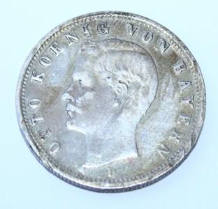 @ 2 Deutsche Reichsmark von 1900 mit  Buchstaben D @