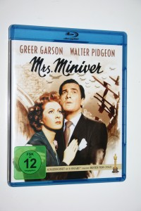 "@ Blu-Ray "" Mrs. Miniver "" Greer Garscon, Walter Pidgeon @"