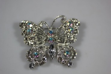 Brosche Modeschmuck Schmetterling