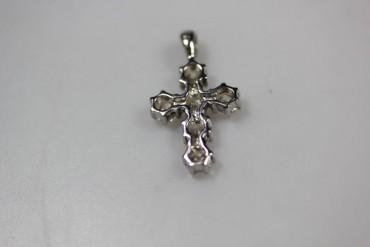Wunderschönes Kreuz mit Zirkonia echt Silber