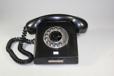 Nordfern W63 Bakelit Telefon Wählscheibentelefon Amtstelefon DDR Kult 60er Jahre