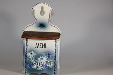 Mehl Vorratsdose/Schütte um 1900