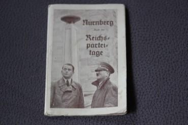 Klapppostkarten Reichsparteitage Zu Nürnberg
