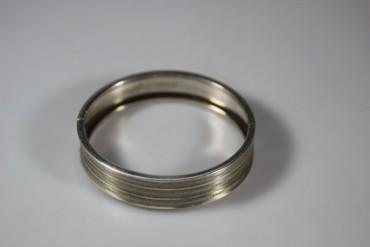 Ausgefallener Armreif 835er Silber