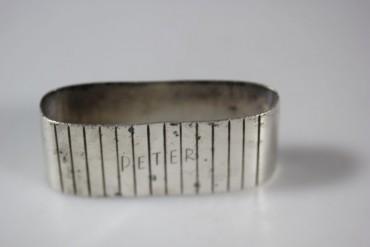 Serviettenring echt Silber 835 gestempelt