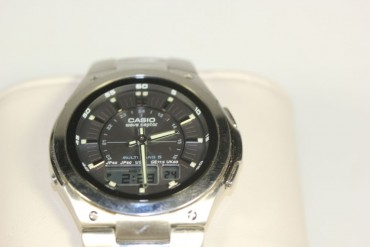 Herrenarmbanduhr Casio wave Ceptor