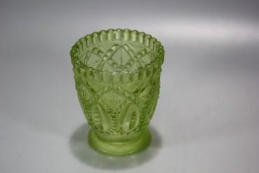 Super schönes Pressglas um 1900 Jugendstil